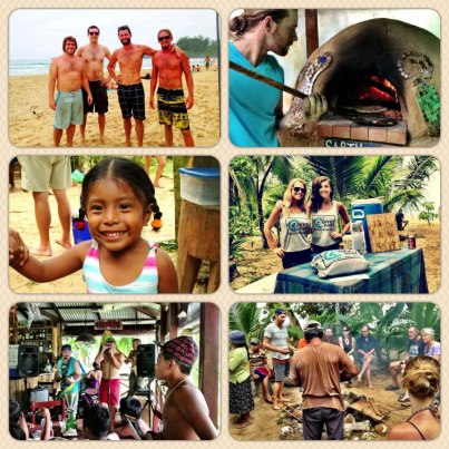 Give and Surf fundraiser at Red Frog Beach